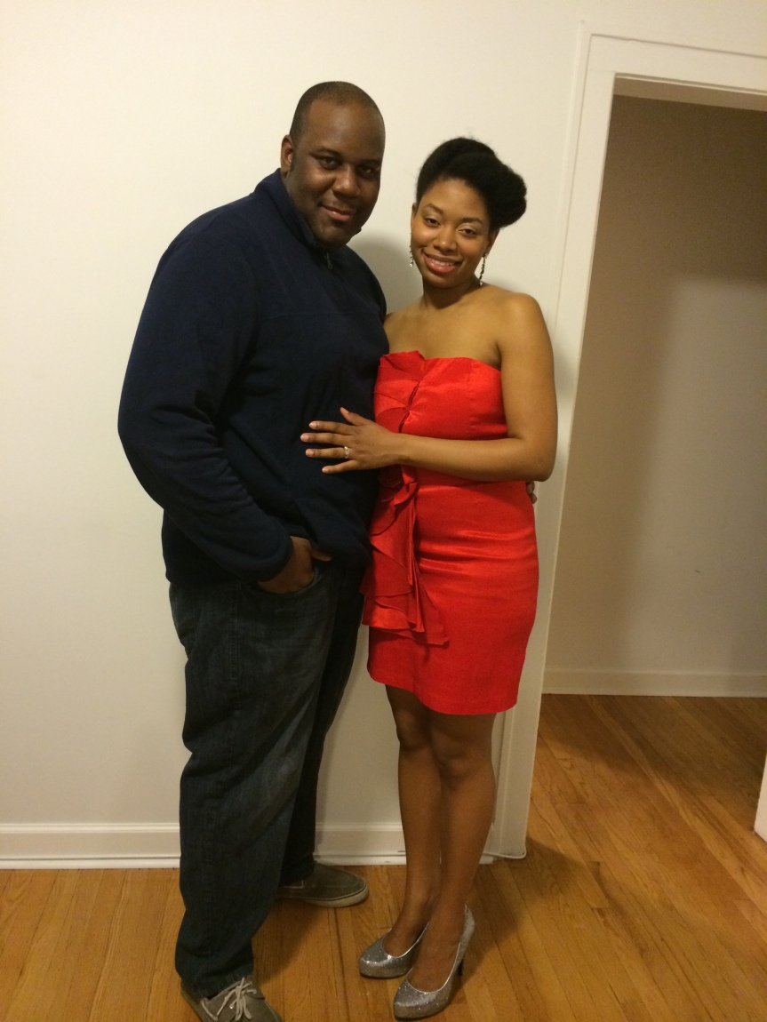 Aaron and Carla Going Out Pic