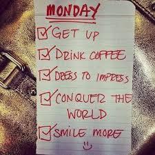 get up monday