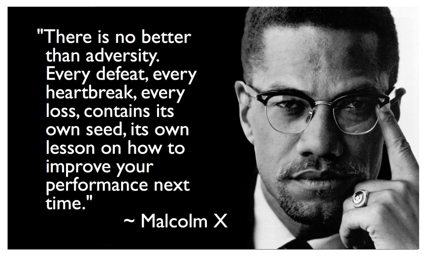 On Birthdays: Malcolm X
