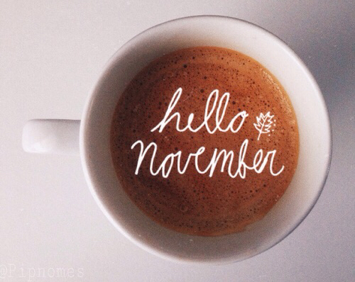On Melancholy Sundays: HelloNovember