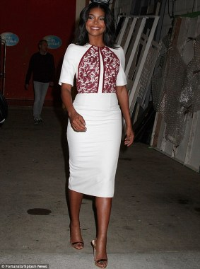 Simple Sheath-Gabrielle Union