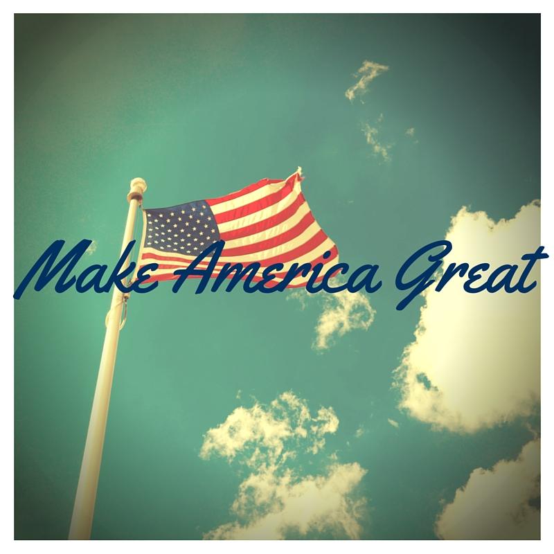 On Politics: Make America Great,Again?