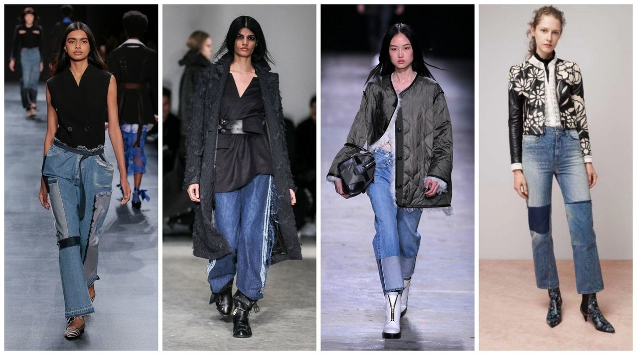 Fashion trends for fall - 2 Reconstructed Denim
