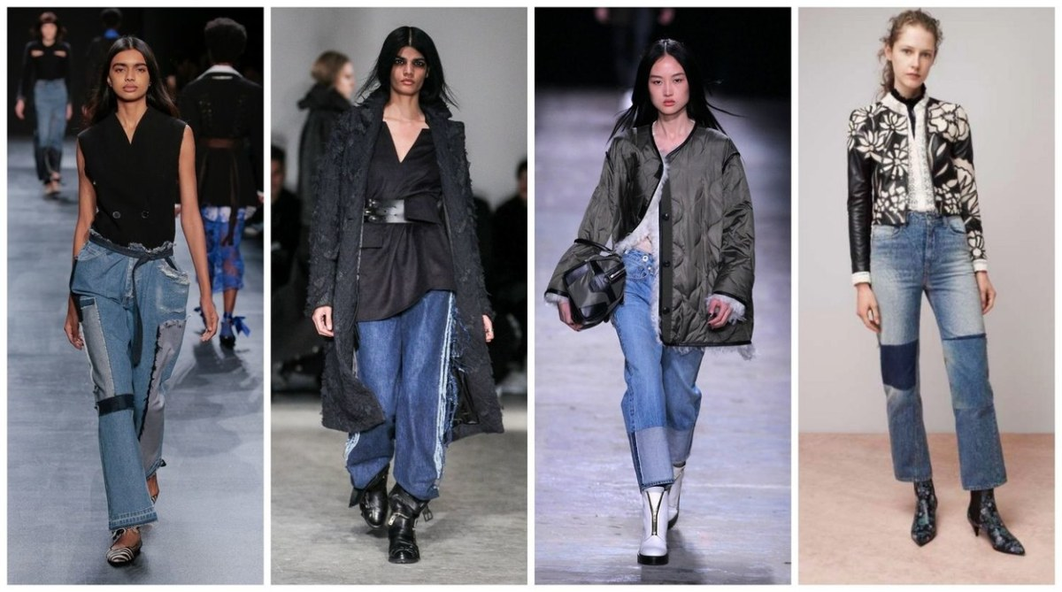 Image result for reconstructed denim fall 2016